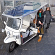 Royalty-Free Stock Photo: Solar powered tuc tuc