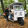 Solar powered tuc tuc — Stock Photo #11890424