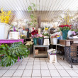 Flower Shop - Stock Photo