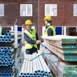 Stock Photo: Building contractors