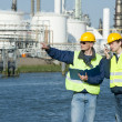 Foto Stock: Petrochemical Engineers
