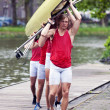 Royalty-Free Stock Photo: Rowing team