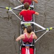 Stock Photo: Coxed four