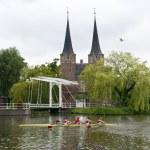 Dutch Rowing — Stock Photo