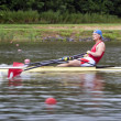 Men Single Rowing — Stock Photo #11895323