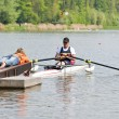 Rowing start — Stockfoto