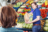 Greengrocer — Stock Photo