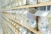 Hardware store shelves — Stock Photo