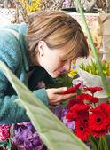 Zapach kwiatów — Zdjęcie stockowe