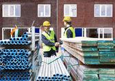Entrepreneurs en construction — Photo