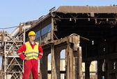 Ingénieur en démolition — Photo