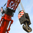 Hoisting rig — Stock Photo