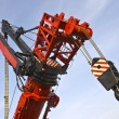 Detail of the worlds largest mobile crane — Stock Photo