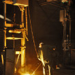 Cast iron factory — Stockfoto