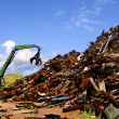 Steel recycling — Stock Photo
