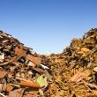 Scrap Heap Waste Separation — Stock Photo