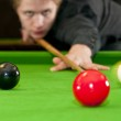 Playing snooker — Stock Photo #11972010