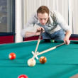 Постер, плакат: Pool player
