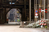 Industrial alley — Stock Photo