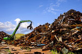 Staal recycling — Stockfoto