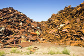 Steel Scrap Heap — Stock Photo