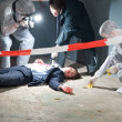Постер, плакат: Crime Scene Investigation