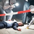 Forensic Team — Stock Photo