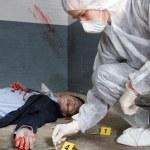 Forensic expert — Stock Photo