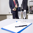 Celebrating a business deal — Stock Photo #11982712