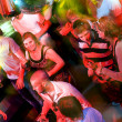 Busy dance floor — Stock Photo