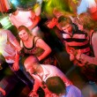 Busy dance floor - Stock Photo