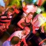 sorriso di pavimento di ballo — Foto Stock