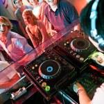 Disco party — Stock Photo