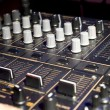 Turntable faders — Stock Photo