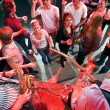 Party crowd — Stockfoto
