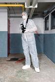 Forensics expert — Stock Photo