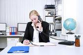 Lavoro d'ufficio — Foto Stock