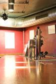 Scruffy bar — Stock Photo