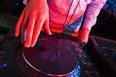 DJs Hands — Stock Photo