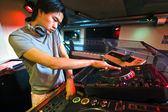 DJ in the Mix — Stock Photo