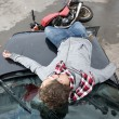 Accident - Stock Photo