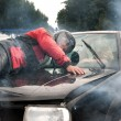 Car accident - Stockfoto
