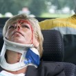 Neck brace — Stock Photo