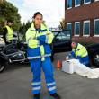 Female Paramedic — Stock Photo