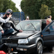 Car crash scene — Stock Photo #11998651