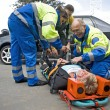 Stock Photo: EMS team at work