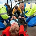 First aid Teamwork — Stock Photo #11998696
