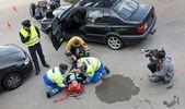 Multi-disciplinary rescue team — Stock Photo