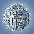 3d abstract sphere background — Stock Photo #11281871