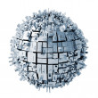 3d abstract sphere background — Stock Photo #11281876